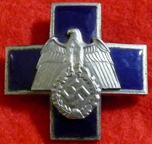 Unknown insignia of third reich