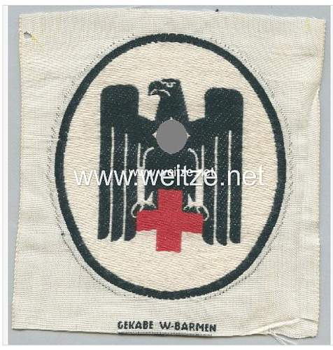 DRK sport shirt emblem