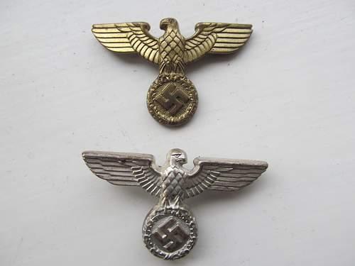 NSDAP Eagle Cap Badge - Opinions Please!