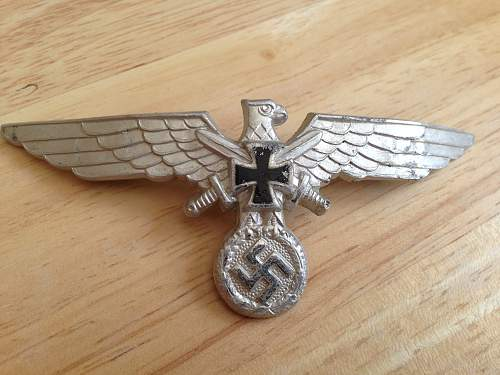 Veterans Breast Eagles  - Opinions!