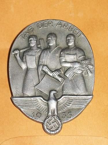 Tag der Arbeit 1935 - validation