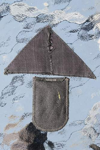 DRK 1st pattern sleeve eagle and the triangular second pattern