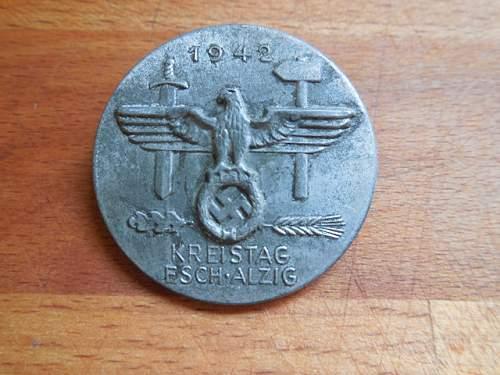 Luxemburg kreistag abzeichen
