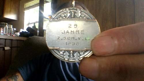 3 x 1936 German  Olympic  badge