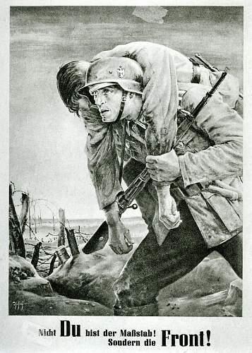 Click image for larger version.  Name:1943 Nicht Du bist der Maßstab! Sondern die Front!.jpg Views:29 Size:222.8 KB ID:876690
