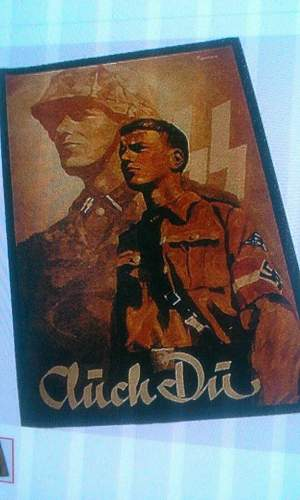 Are these original waffen ss and hitlerjugend posters?