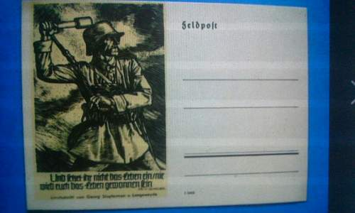 Are these original third reich postcards and what are they too?
