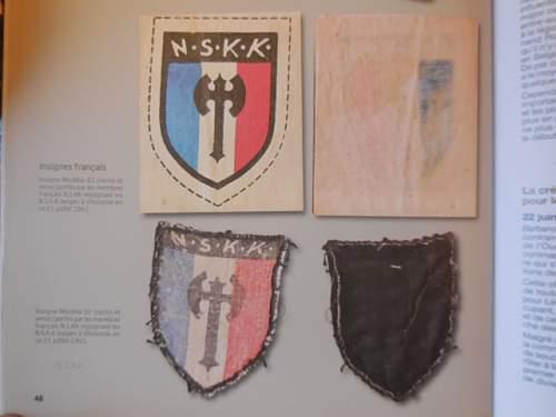NSKK armshield/patch