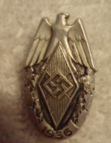 Click image for larger version.  Name:Hitler Jugend 1936_1.JPG Views:36 Size:37.1 KB ID:882577