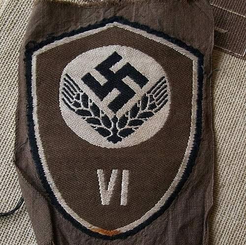 RADwJ Female members sleeve insignia.