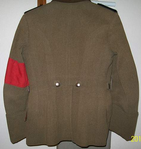 Arbeitdienst Unterfeldmeister (Tunic) Tuchrocke