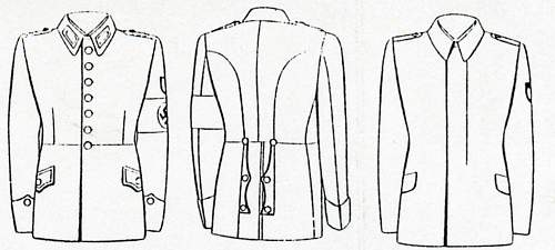 Click image for larger version.  Name:RAD-25 Rundschau-2 1940 new tunic and litewka.jpg Views:179 Size:125.6 KB ID:892269