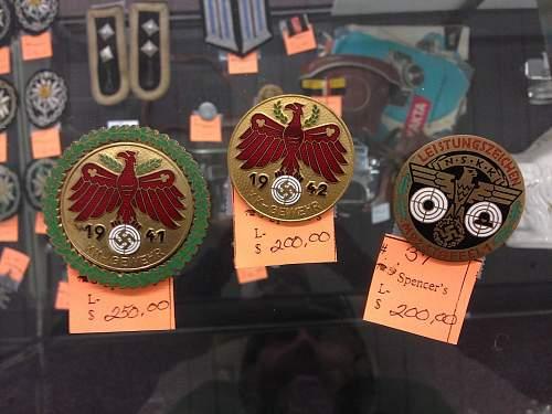Interesting TR badges, real or fantasy?
