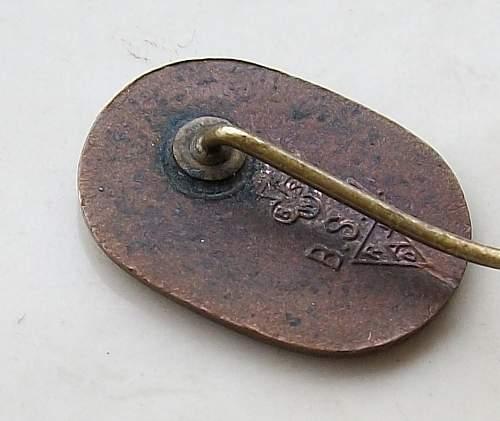 Reichsarbeitsdienst pin