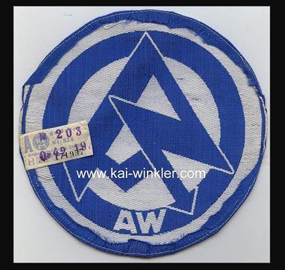 SA sports shirt insignia