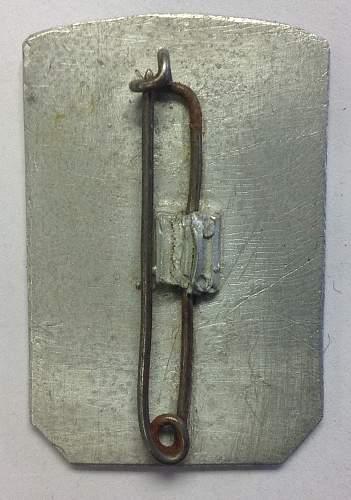 Fake tinnies: NSKOV 1935 and Gautag Stuttgart 1937