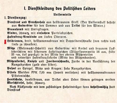 My new addition--Kreis Abteilungsleiter-(Department Leader)