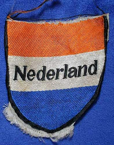 Gruppe Niederlande der R.A.D sleeveshield