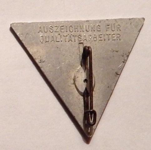 Junkers Workers Award Badge