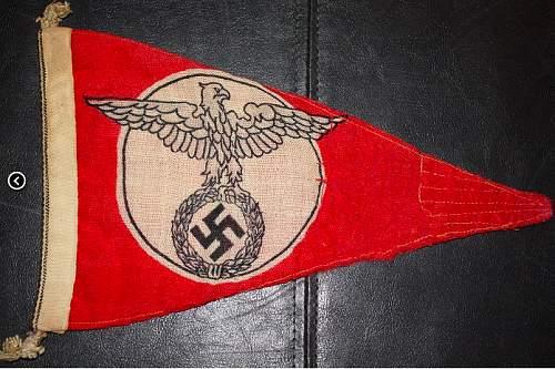 Possible NSKK Cloth Eagle