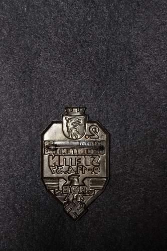 RDB 2. Pommerscher Beamtentag 1937 tinnie