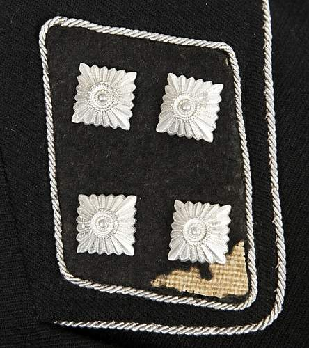 """NSFK Obergruppenfuehrer """"1942"""" Collar Tab for Review & Comment:"""