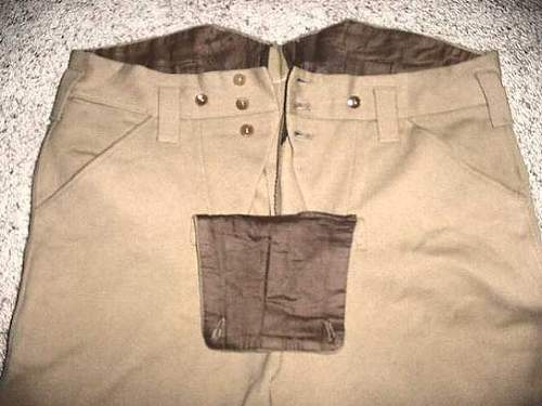Sa breeches - possible - please look..