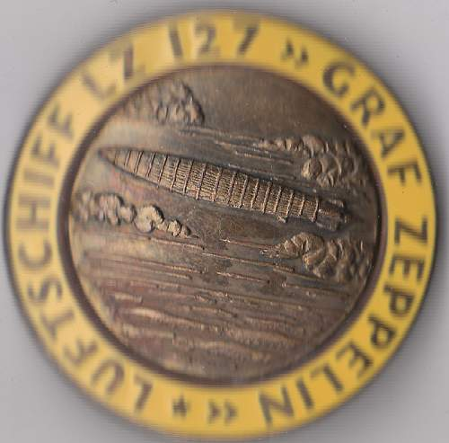 Graf Zeppelin badges for opinions please