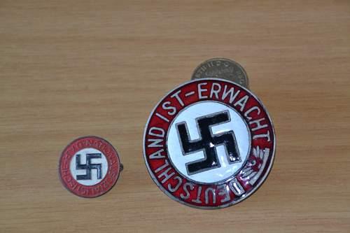 large 1st erwacht badge