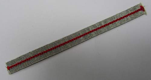 DRK 5 year service stripe and document
