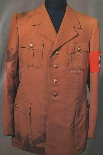 Hitler's brown tunics