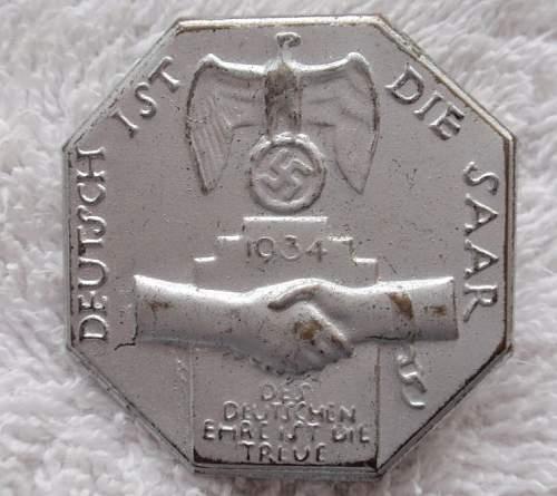 Deutsch ist die Saar 1934