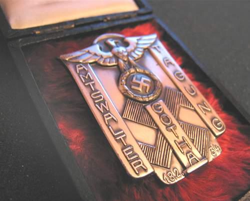 Amtswalter Gotha Tagung badge -'34