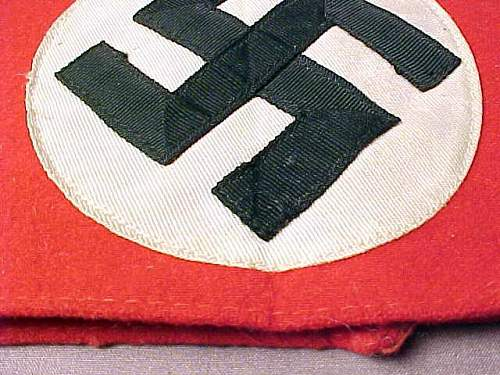 SA Sport and NSDAP armbands: Authentic and a good deal?