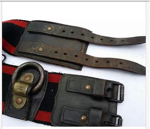 Fire Fighters Belt    Lehmann & Wundenberg