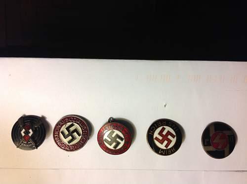 Member pins any help