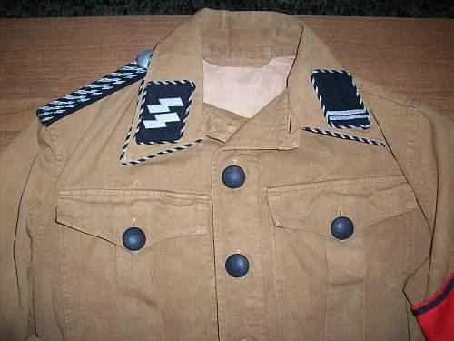 NSDAP Tunic/Brownshirt i bought today....