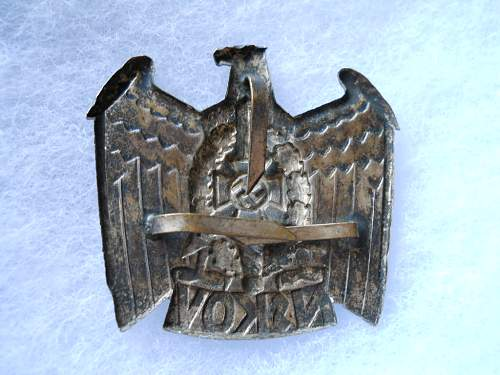 Another NSKOV hat insignia for review