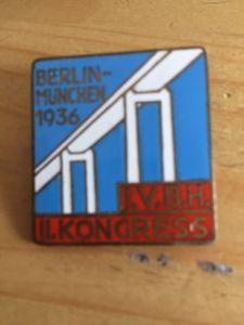 unkown 1936 badge - Carl Poellath, Schrobenhausen