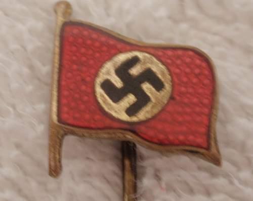 Stickpin Nazi Flag