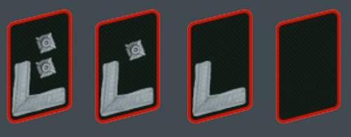 WERKLUFTSCHUTZ rank and insignia