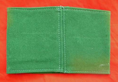 Customs officers armband