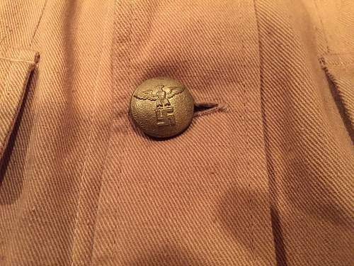 early NSDAP political leader brownshirt