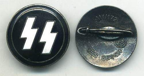 SS Badge and DRL Sports Badge: Authentic pieces?