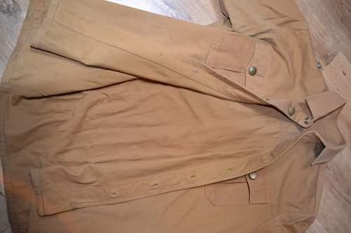 SA Brown shirt