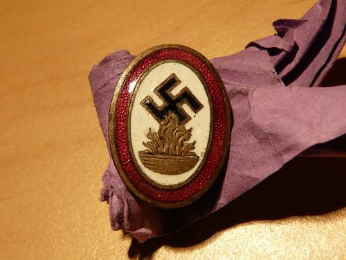 unknown NSDAP badge, help needed