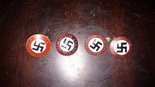Nazi Party Badges REAL or Fake