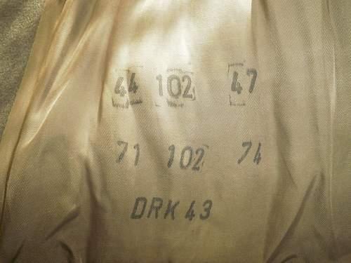 Deutsche Rote Kreuz (DRK) jacket