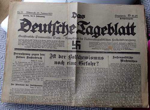 Click image for larger version.  Name:Kampfzeit newspaper.jpg Views:68 Size:145.6 KB ID:998717