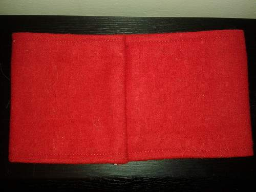 wool armband authentication